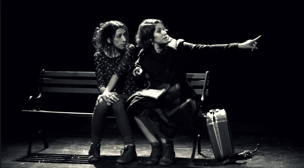 compagnie l'insoumise nous présente leur théâtre concert a montpellier, les yeux de ta mère, féminisme,